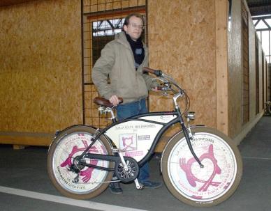 Florian, un cycliste attaché à ses valeurs
