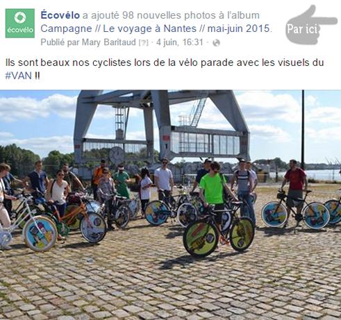 album photo ecovélo de la vélo parade