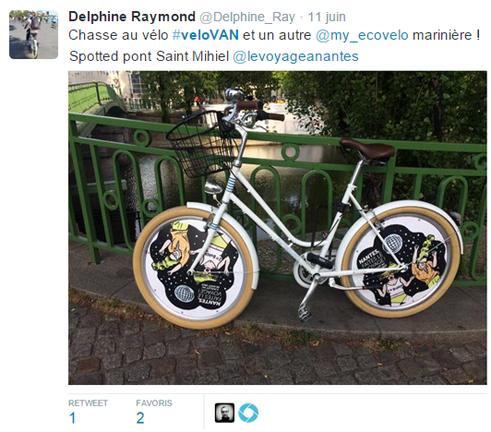 chasse au vélo dans Nantes