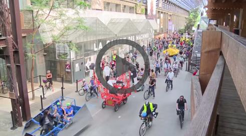 vidéo vélo parade by TV nantes