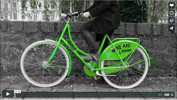 IAdvize - And now we have bikes