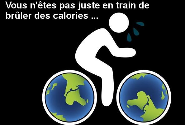 Le vélo bénéfique