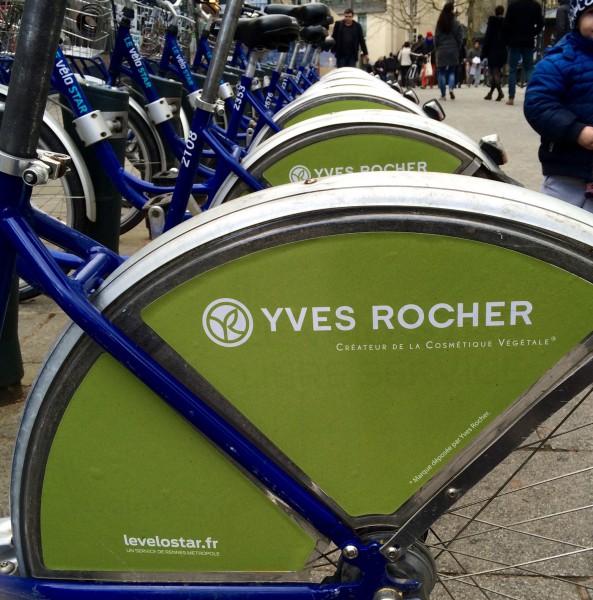 Les vélos star by Yves Rocher place Sainte-Anne