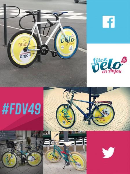 15 vélos circulent à Angers, les trouverez vous ?