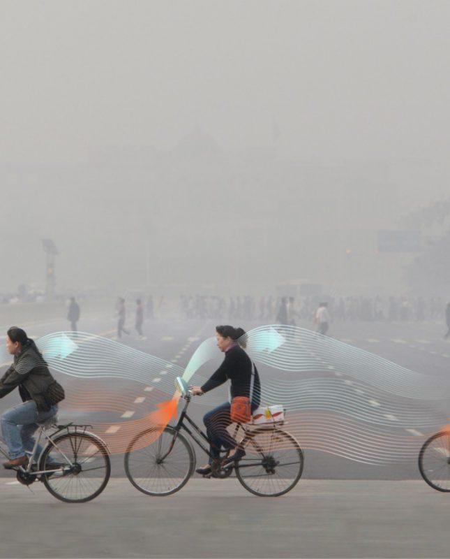 Vélos dépollueurs en Chine