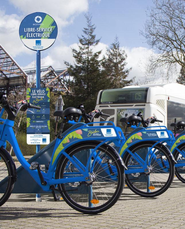 vélos en libre-service