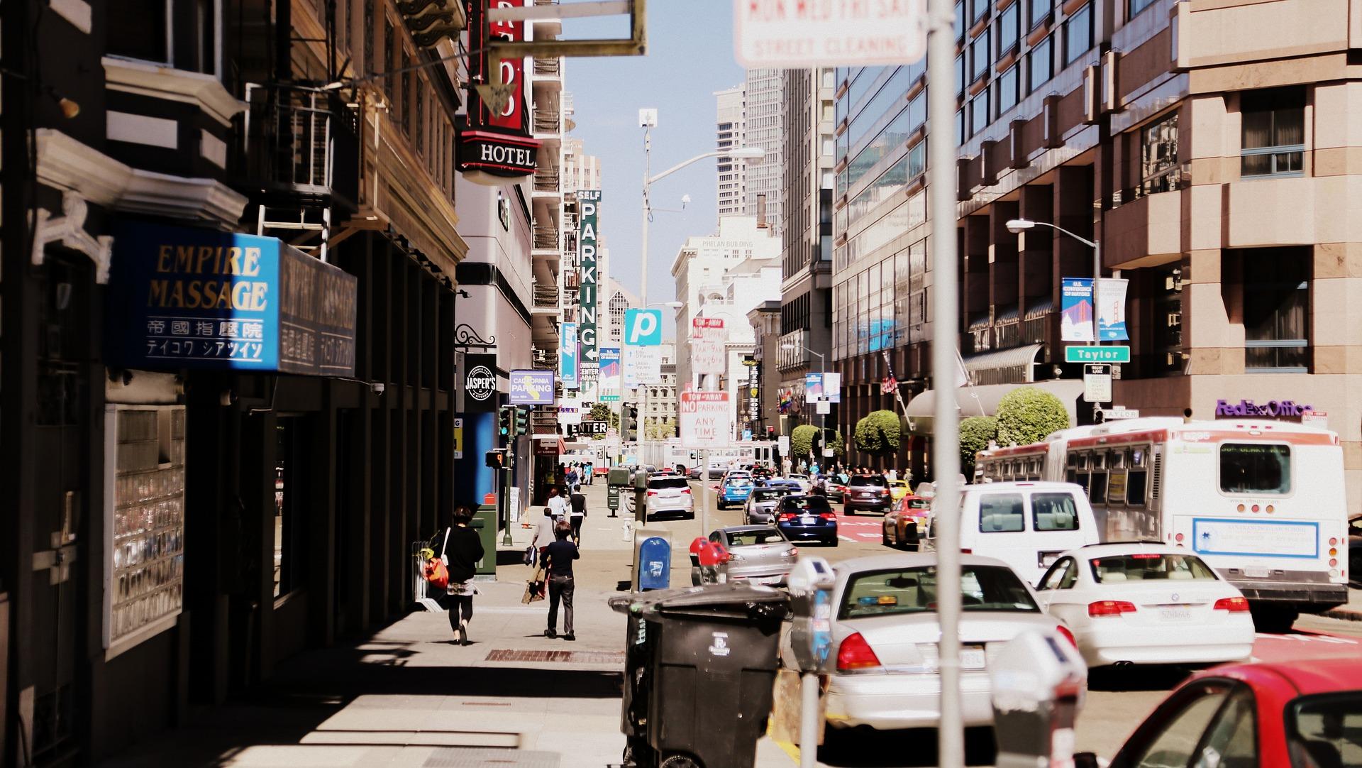 Rue de Los Angeles