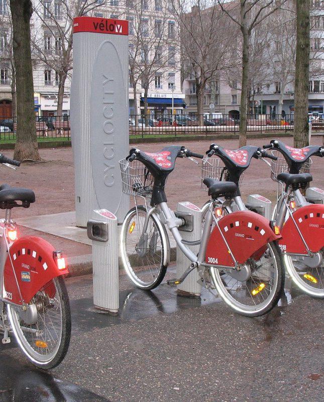 Velo'v à Lyon - vélo libre-service