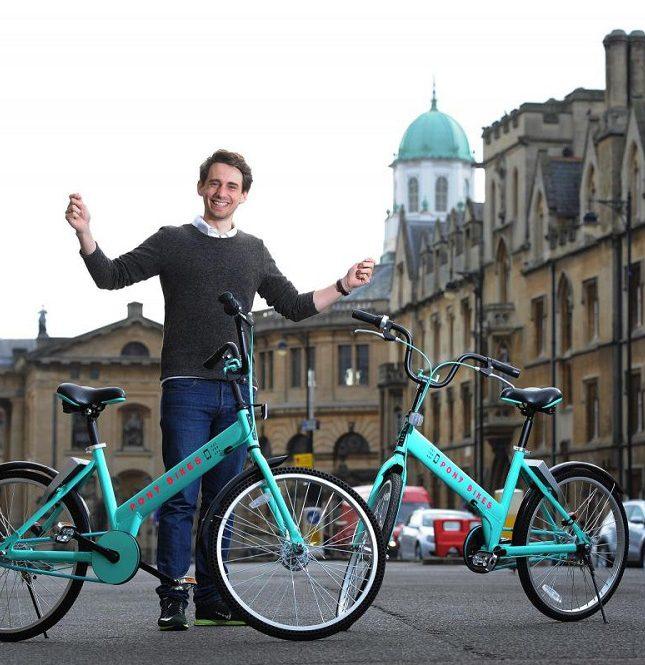 Vélo libre-service Pony Bike