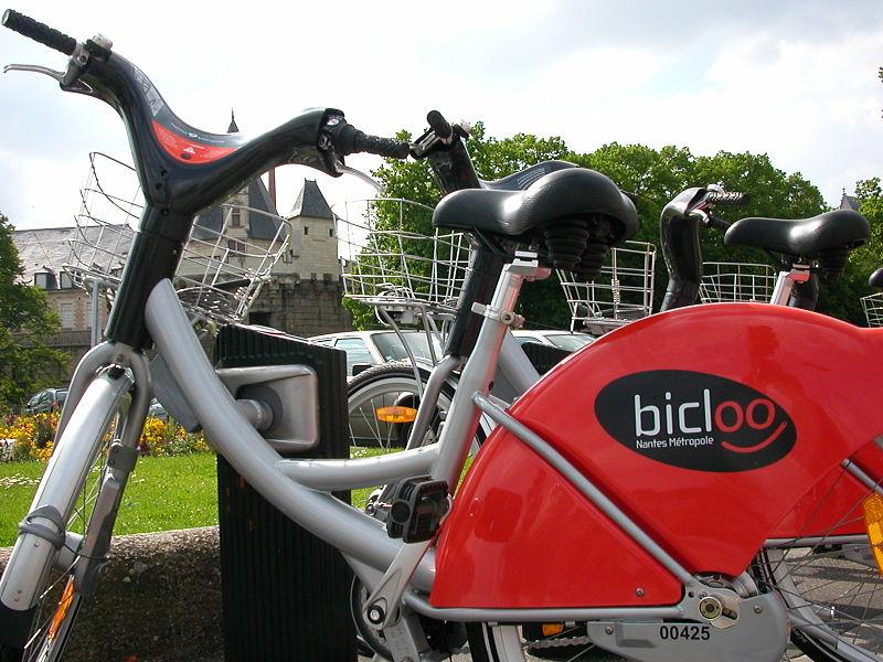 Vélo Bicloo à Nantes