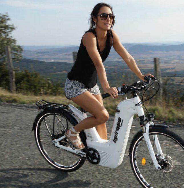 Vélo à hydrogène Pragma Industries