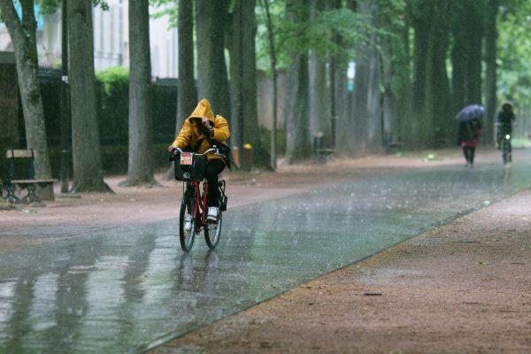 Vélo mauvais temps