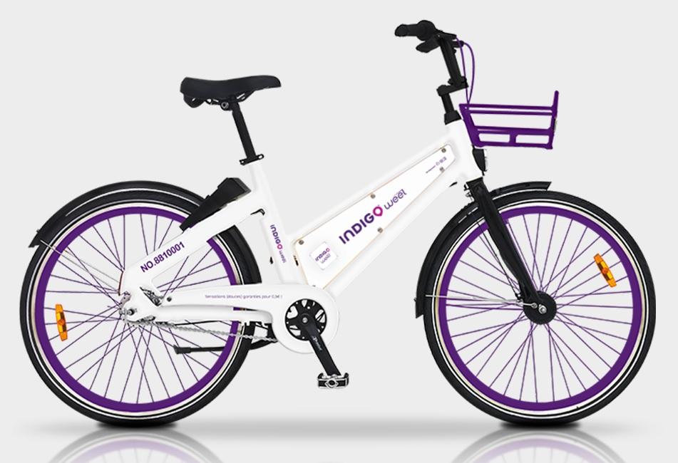 Vélo libre-service Indigo Weel