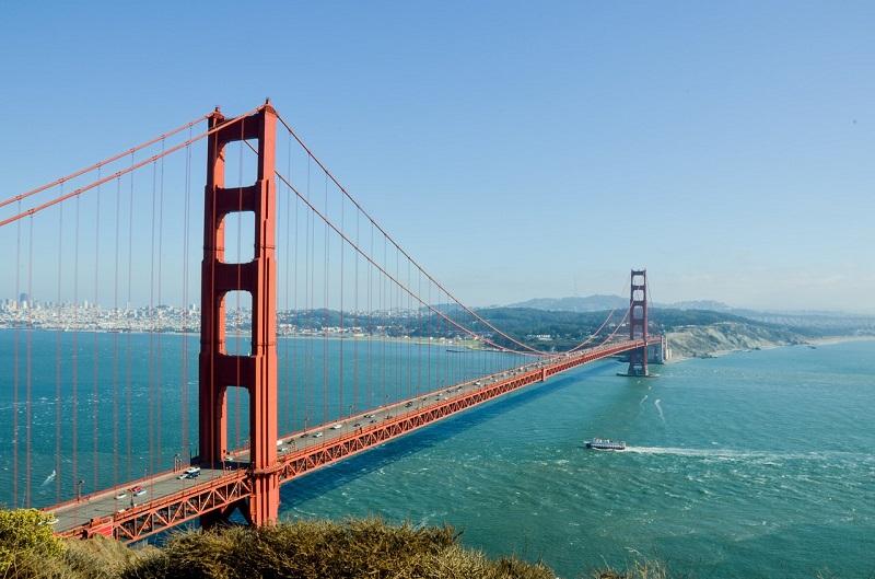 San Francisco : le Golden Gate bridge