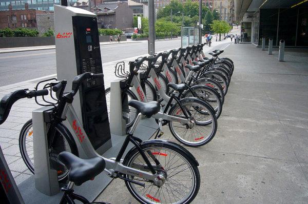 Flotte de vélos