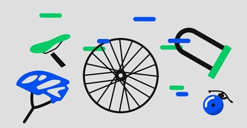 Image accessoires pour bannière Ecovelo