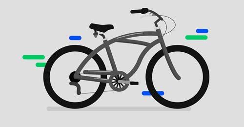 image vélo pour bannière