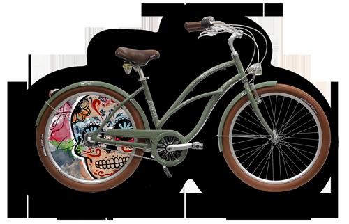 Vélo de collection pour la boutique en ligne