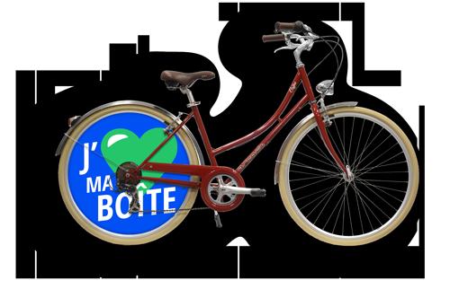 Vélo entreprise pour le shop en ligne