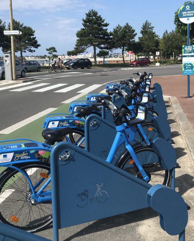 Station vélos en libre-service La Baule