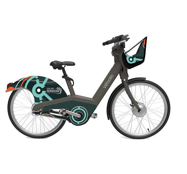 Vélo Vélocéo ville de Vannes Golfe du Morbihan