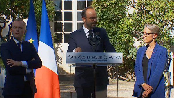 Edouard Philippe le Plan Vélo Gouvernement