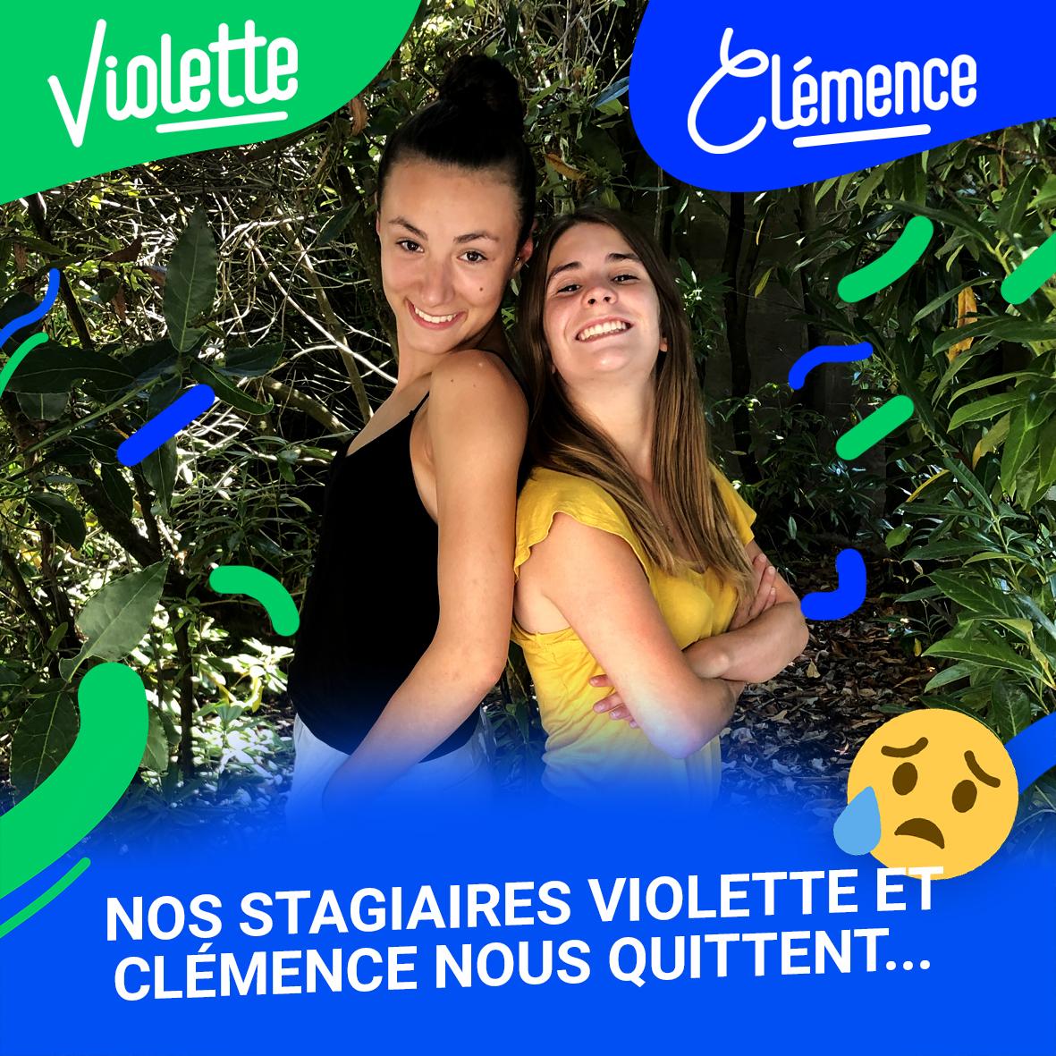 Violette et Clémence