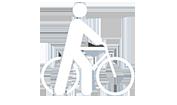 Vélo de fonction publicitaire