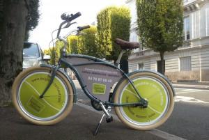 Le vélo de fonction de l'agence Delphine Teillaud à Grenoble