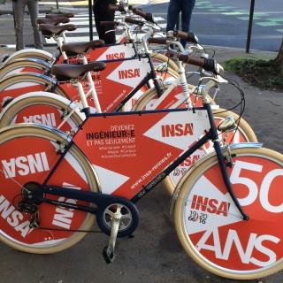 La flotte des vélos INSA prête au déploiement à Rennes